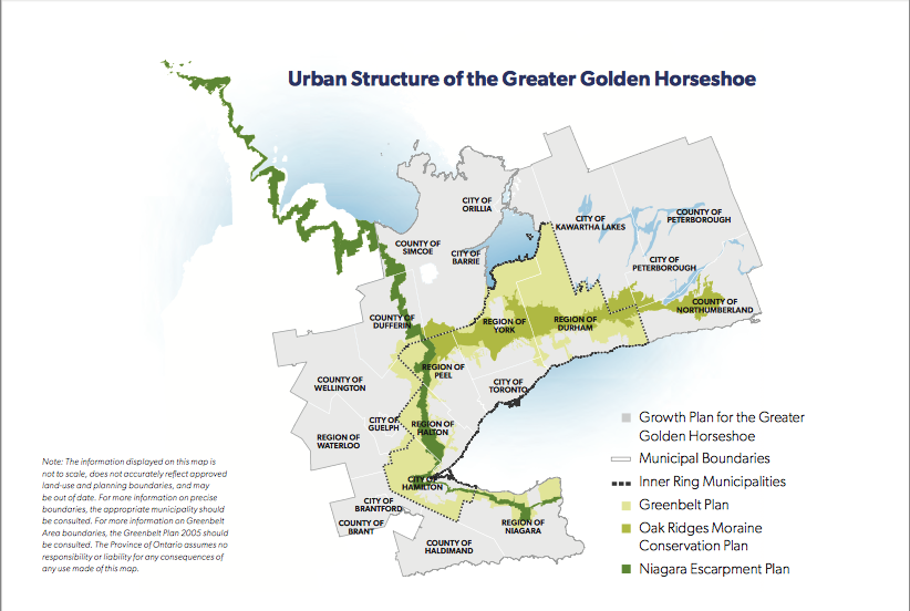 The Greater Golden Horseshoe (p. 20)